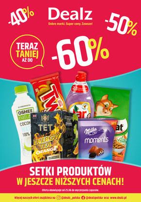 Do 60% taniej w sklepach Dealz!