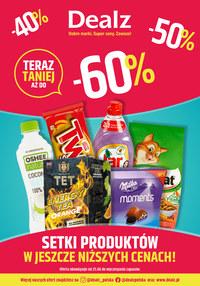 Gazetka promocyjna Dealz - Do 60% taniej w sklepach Dealz! - ważna do 09-07-2020