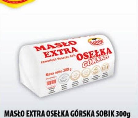 Masło Osełka