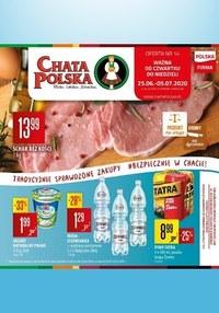 Gazetka promocyjna Chata Polska - Tradycyjne zakupy w Chacie Polskiej - ważna do 05-07-2020
