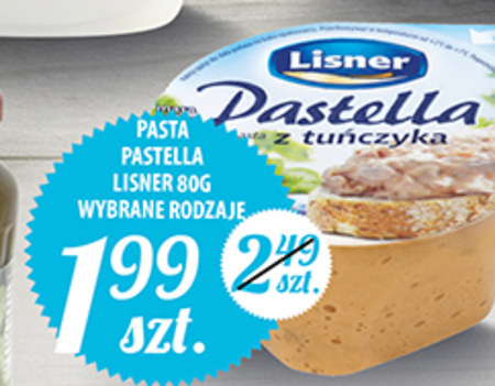 Pasta kanapkowa Lisner