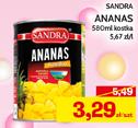 Ananas w puszce Sandra niska cena