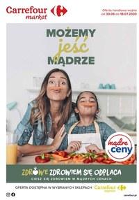 Gazetka promocyjna Carrefour Market - Carrefour market - możemy jeść mądrze - ważna do 18-07-2020