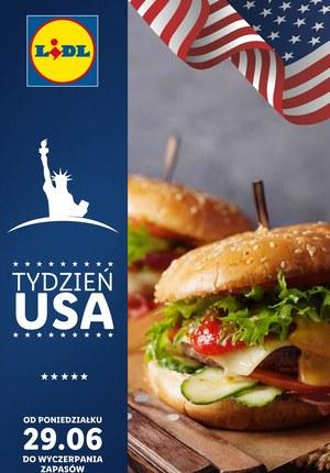 Gazetka promocyjna Lidl - Tydzień USA w Lidlu