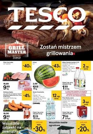 Gazetka promocyjna Tesco Centra Handlowe - Zostań mistrzem grillowania z Tesco!