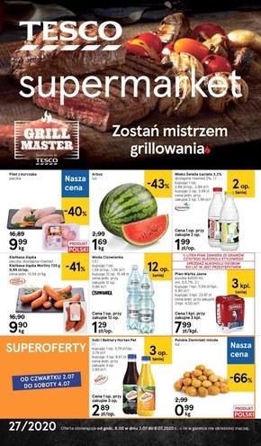 Grilluj z Tesco Supermarket!