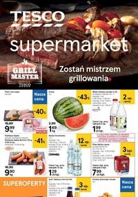 Gazetka promocyjna Tesco Supermarket - Grilluj z Tesco Supermarket!  - ważna do 08-07-2020