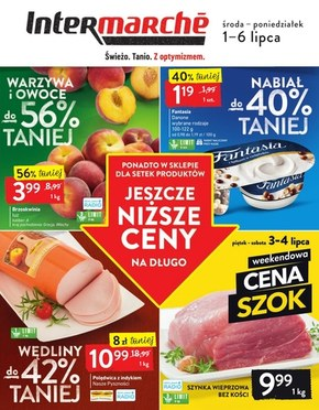 Jeszcze niższe ceny w Intermarche!