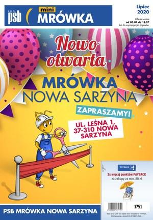 Gazetka promocyjna PSB Mrówka - PSB Mówka Nowa Sarzyna