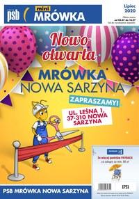 Gazetka promocyjna PSB Mrówka - PSB Mówka Nowa Sarzyna - ważna do 18-07-2020