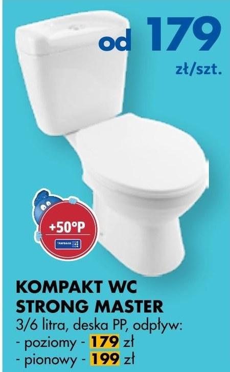 Kompakt wc Strong Master