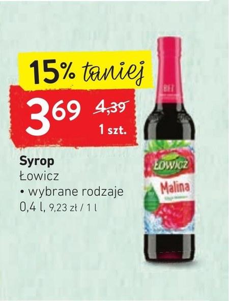 Syrop owocowy Łowicz