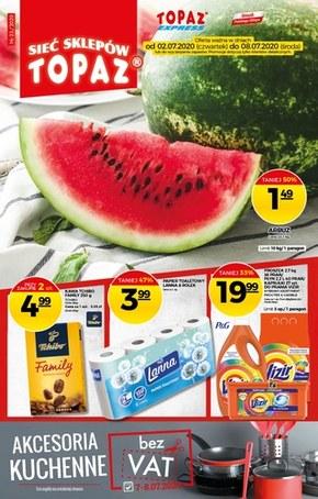 Promocje w sklepach Topaz