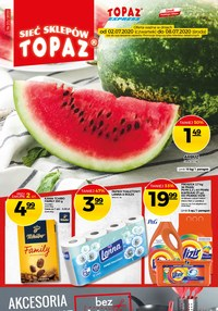 Gazetka promocyjna Topaz - Promocje w sklepach Topaz