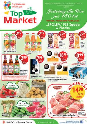 Gazetka promocyjna Top Market - Promocje w Top Market!