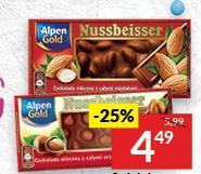 Czekolada Alpen Gold niska cena