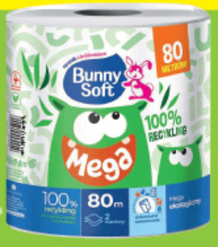 Ręcznik papierowy Bunny Soft
