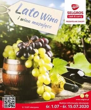 Lato wina w Selgros