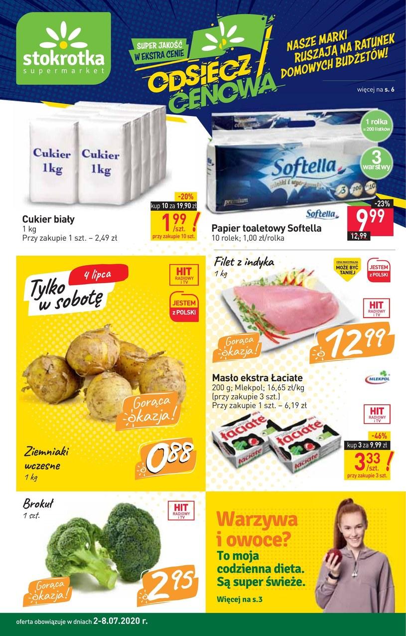 Gazetka promocyjna Stokrotka Supermarket - ważna od 02. 07. 2020 do 08. 07. 2020