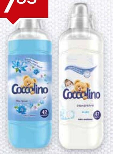 Płyn do płukania tkanin Coccolino