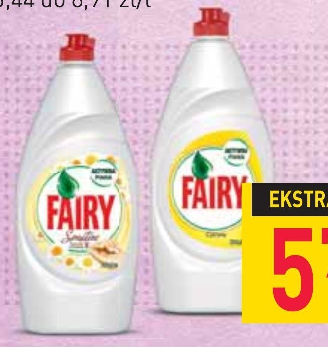 Płyn do mycia naczyń Fairy niska cena