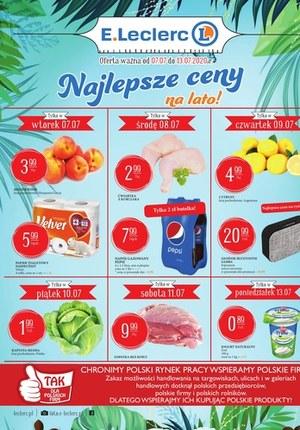 Gazetka promocyjna E.Leclerc - Najlepsze ceny w E.Leclerc Poznań