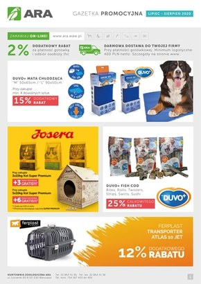 Promocje w sklepach Ara
