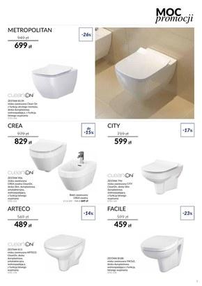 Katalog wyposażenia łazienek Cersanit