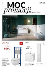Gazetka promocyjna Cersanit - Katalog wyposażenia łazienek Cersanit - ważna do 31-08-2020