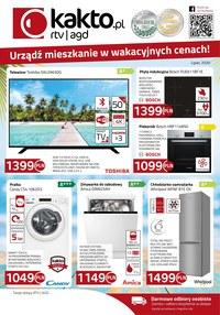 Gazetka promocyjna Kakto.pl - Urządź mieszkanie w wakacyjnych cenach z Kakto! - ważna do 31-07-2020