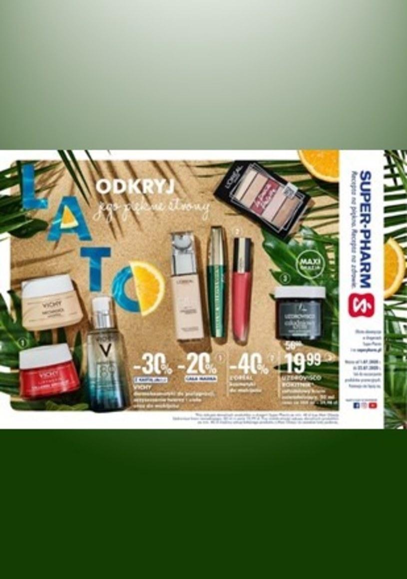 Gazetka promocyjna Super-Pharm - ważna od 01. 07. 2020 do 22. 07. 2020