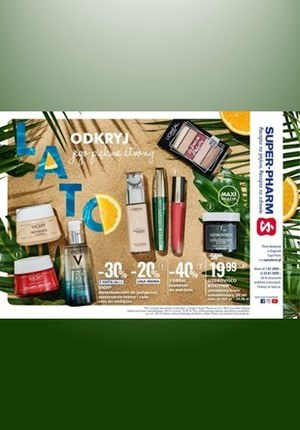 Gazetka promocyjna Super-Pharm - Odkryj piękne strony lata w Super-Pharm