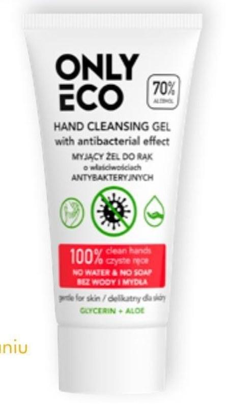 Żel do mycia rąk Only Eco