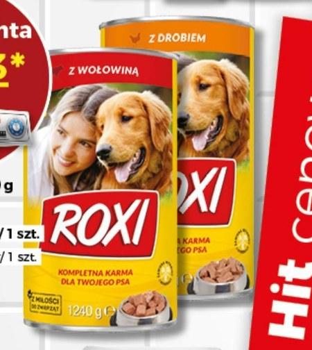 Karma dla psa Roxi