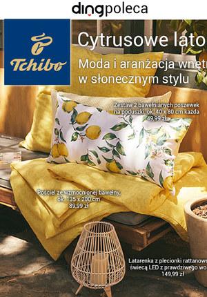Gazetka promocyjna Tchibo - Cytrusowe lato w Tchibo