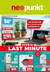 Gazetka promocyjna NEOPUNKT - Oferta Last Minute w Neopunkt - ważna do 14-07-2020