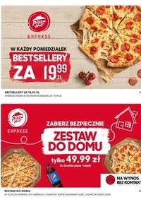 Gazetka promocyjna Pizza Hut - Pizza Hut - kupony