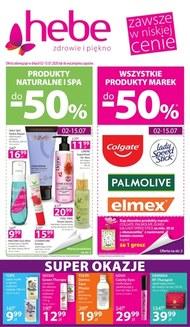 Produkty naturalne i spa w Hebe!
