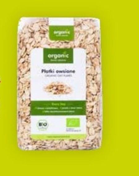 Płatki owsiane Bio organic
