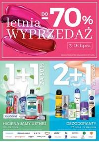 Gazetka promocyjna Jawa Drogerie - Wyprzedaż -70% w sklepach Jawa!