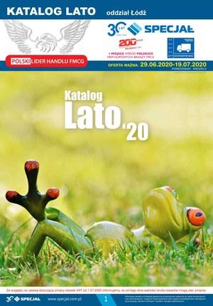 Gazetka promocyjna Specjał - Katalog na lato Specjał Łódź
