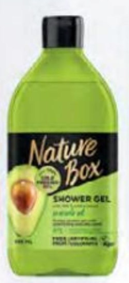 Żel pod prysznic Nature Box