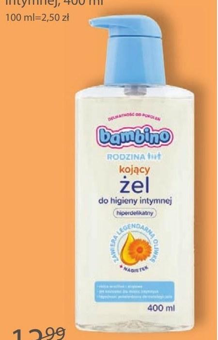 Żel do higieny intymnej Bambino