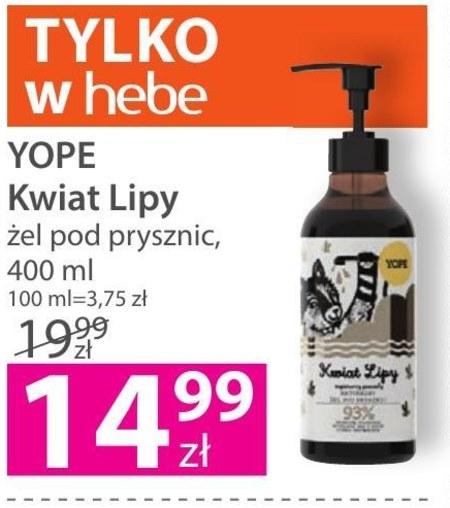 Żel pod prysznic Yope