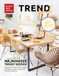 Trendy lata 2020 - Black Red White