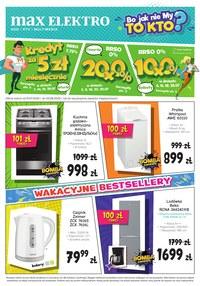 Gazetka promocyjna Max Elektro - Wakacyjne bestselery w Max Elektro!  - ważna do 31-07-2020