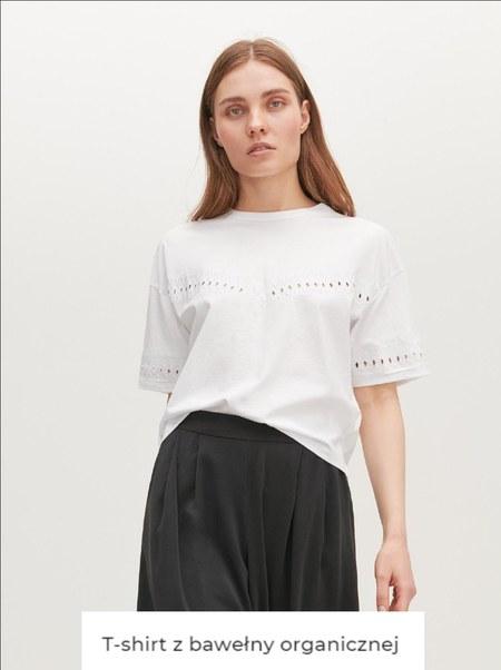 T-shirt damski Reserved