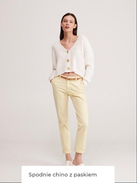 Spodnie damskie Reserved