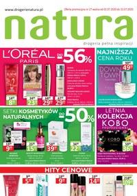 Gazetka promocyjna Drogerie Natura - Promocje w drogerii Natura - ważna do 15-07-2020