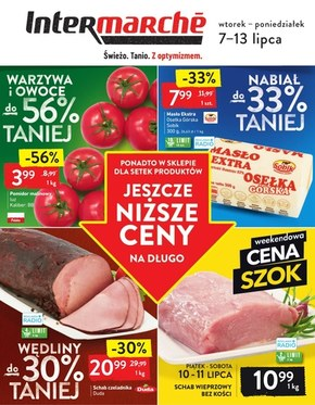 Promocje z optymizmem w Intermarche!